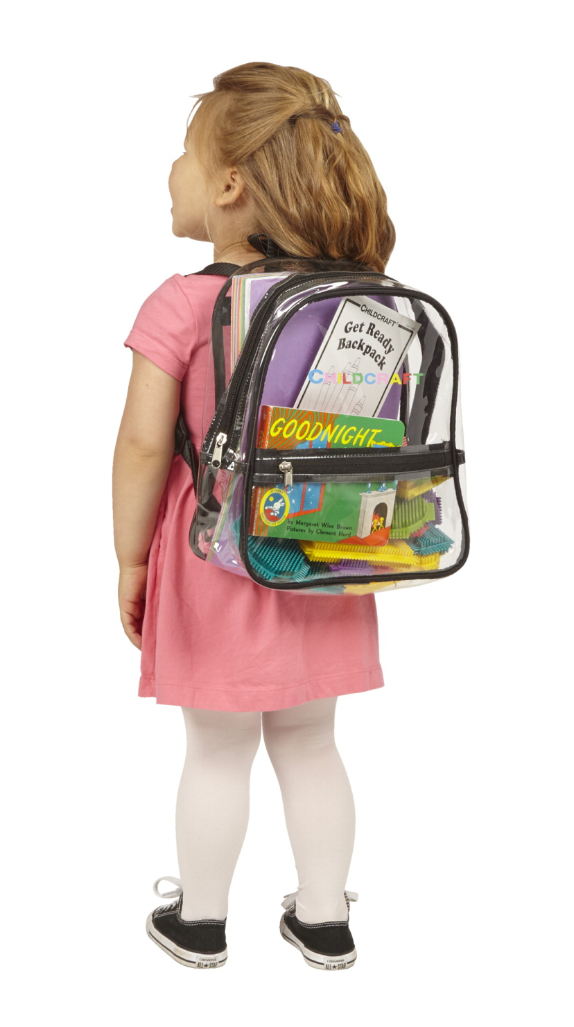 Childcraft Backpack Toddler Readiness, English