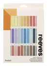 Reeves Soft Pastels, Assorted Colors, Set of 36