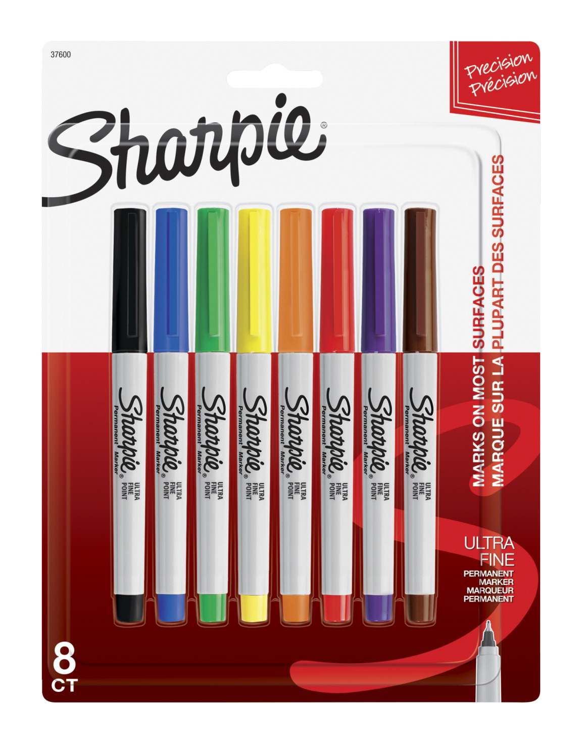 Sharpie Ultra Fine Point Permanent Marker, Assorted, Set of 8