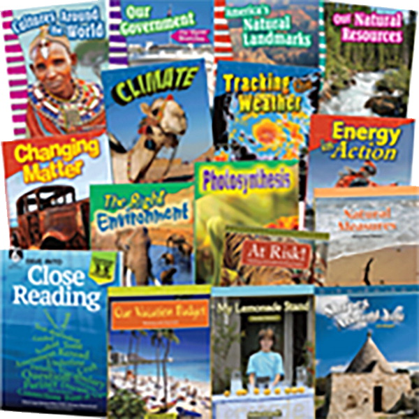 Teacher Created Materials Dive Into Close Reading Literacy Bundle, Grade 3