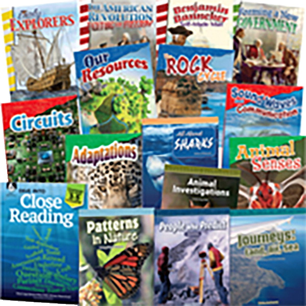 Teacher Created Materials Dive Into Close Reading Literacy Bundle, Grade 4