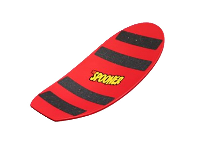 Spooner Freestyle Balance Board, 22-1/2 x 11-1/4 Inches, Red
