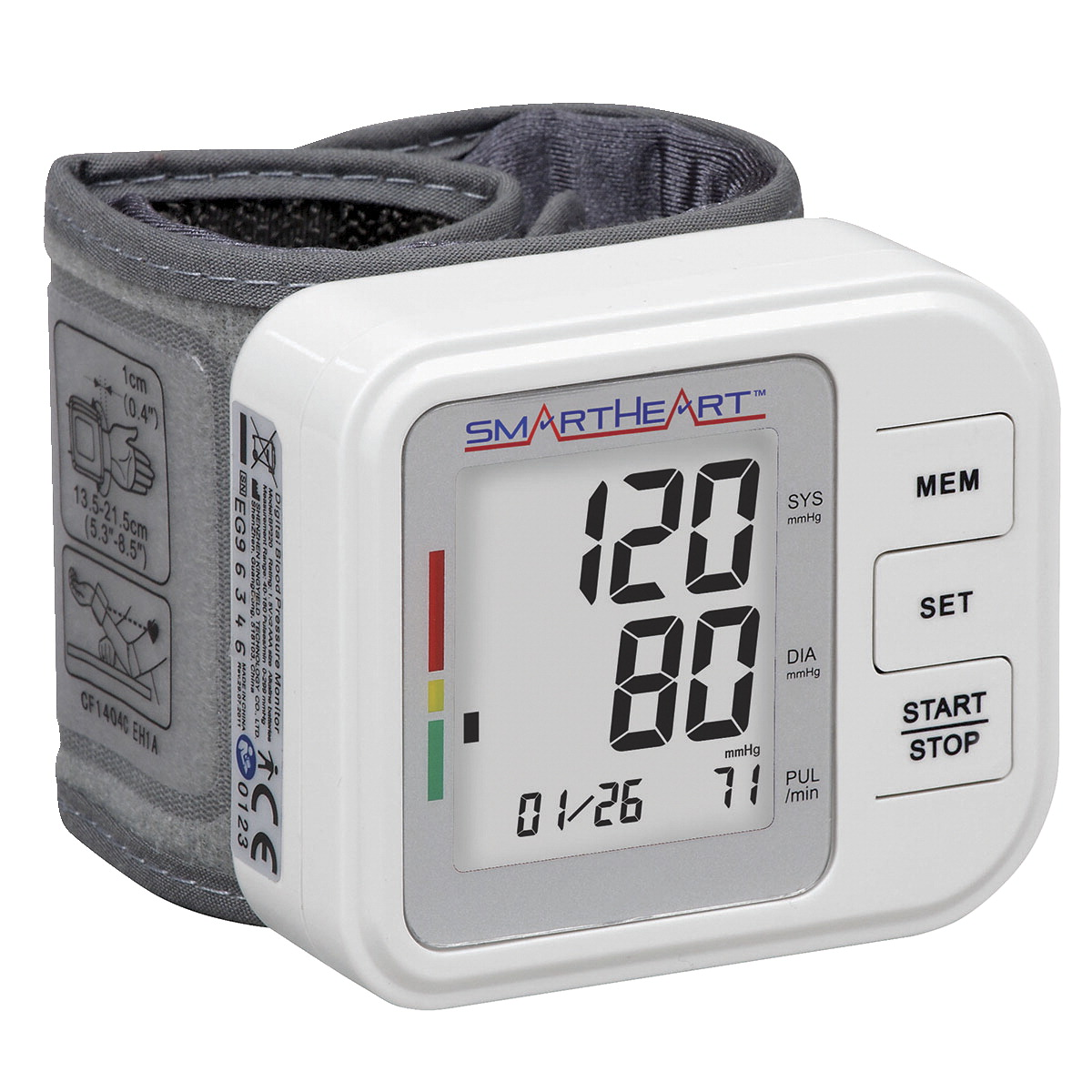 Baseline Blood Pressure and Pulse Monitor Wrist Watch