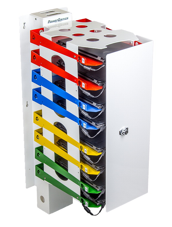 PowerGistics Tower8 Plus Charging Station