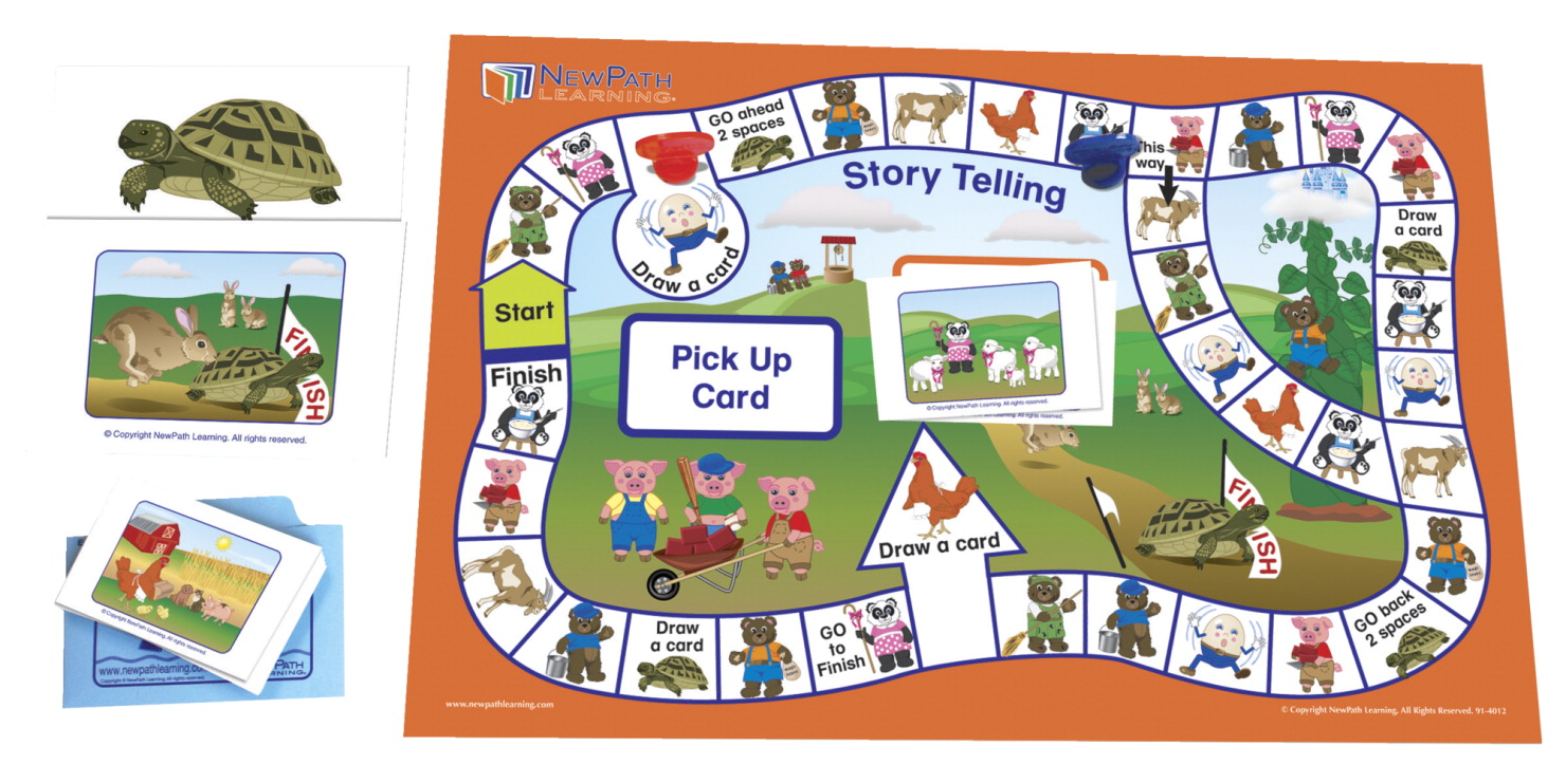 NewPath Story Telling Learning Center Game