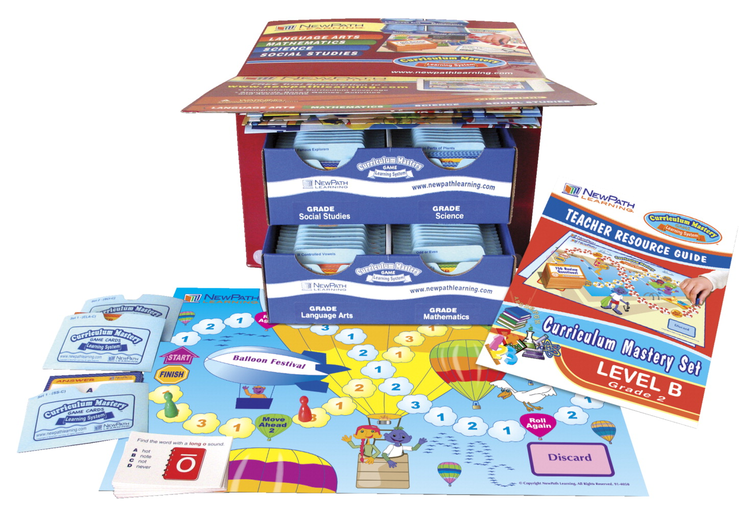 Newpath Curriculum Mastery Game Set, Grade 2