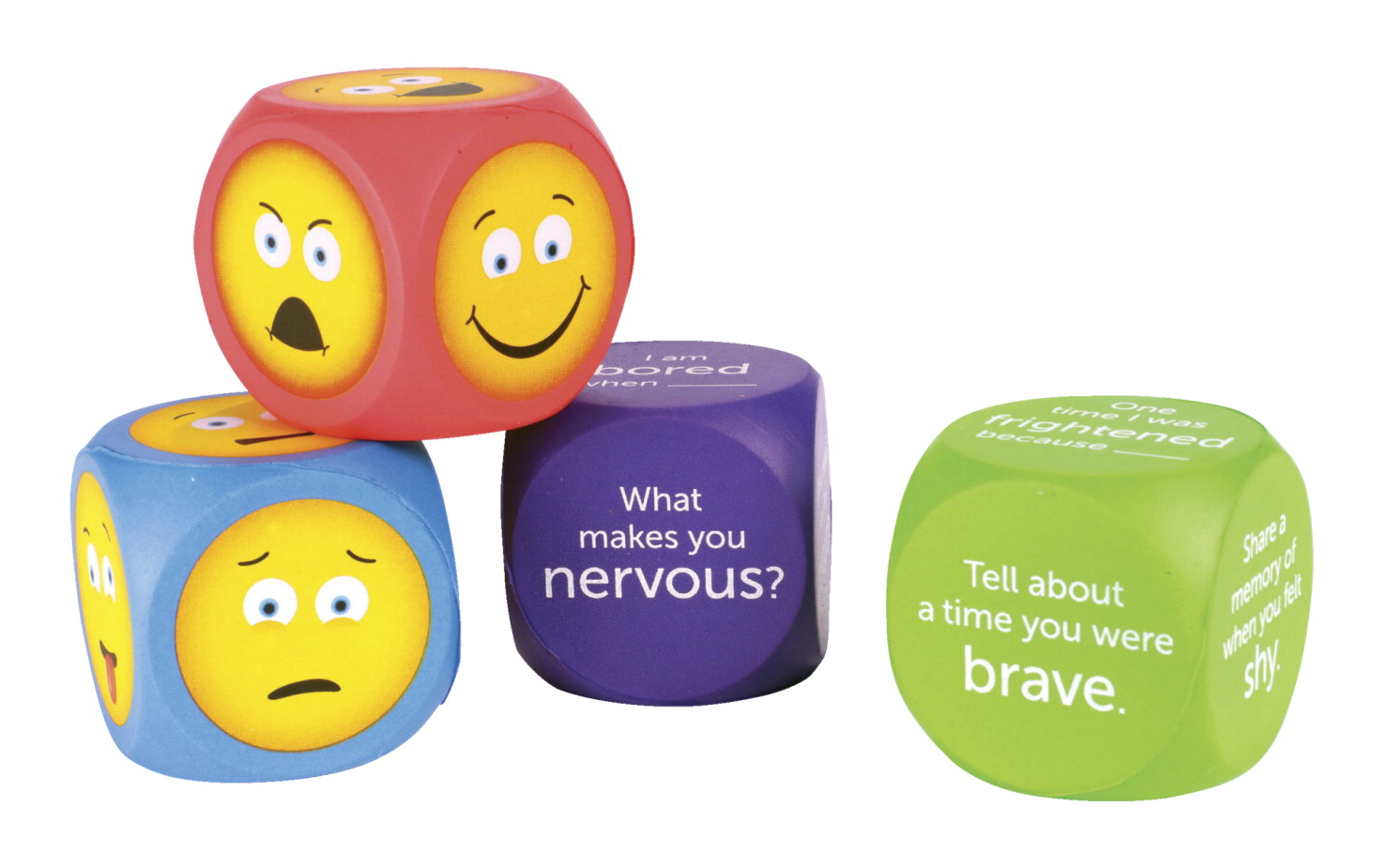 Learning Resources Emoji Cubes, Set of 4