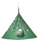 FlowerHouse Moon Drop Hanging Chair, Dark Green