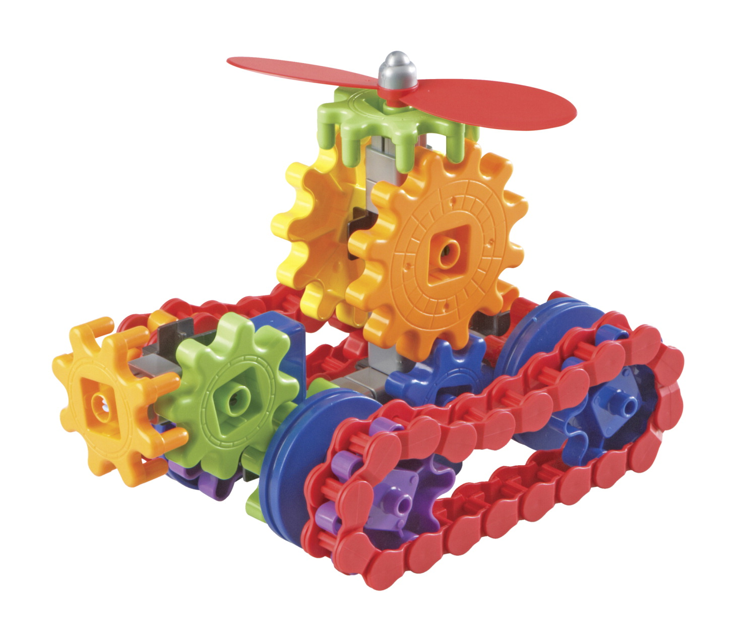 Learning Resources Gears! Gears! Gears! Machines in Motion, Set of 112