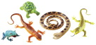 Learning Resources Jumbo Reptiles and Amphibians, Set of 4