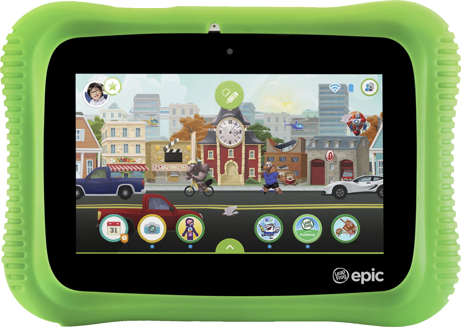 LeapFrog Epic 2.0 Academy Edition, Green