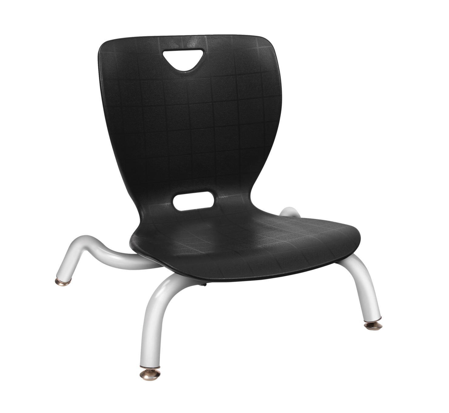 Classroom Select NeoLounge Smooth Back Chair, 6 Inch Seat Height, Chrome Frame, Various Options