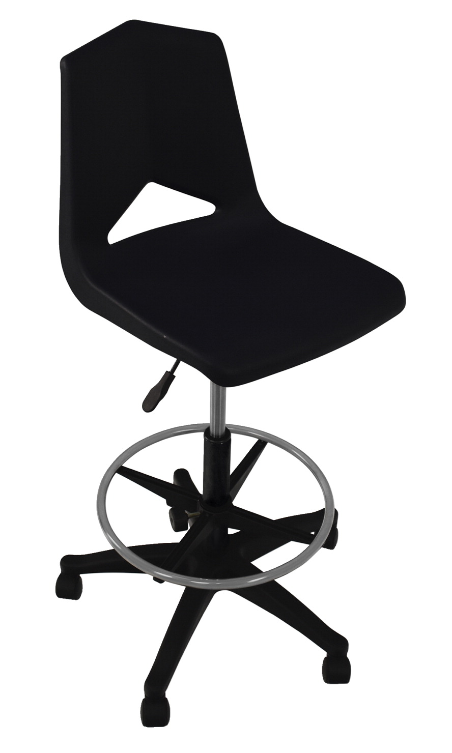 Royal Seating Pneumatic Lift Chair with Adjustable Foot Ring, A Shell, Various Options