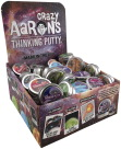 Crazy Aaron's Thinking Putty, Mini Tins, Assorted Colors, Set of 72