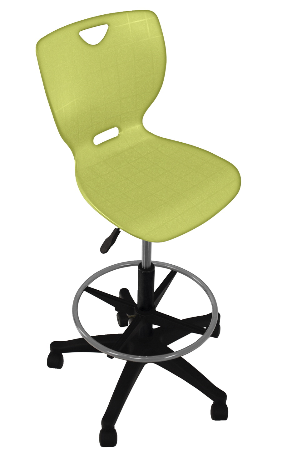 Classroom Select NeoClass Pneumatic Lift Chair with Adjustable Foot Ring, A+ Shell, Various Options