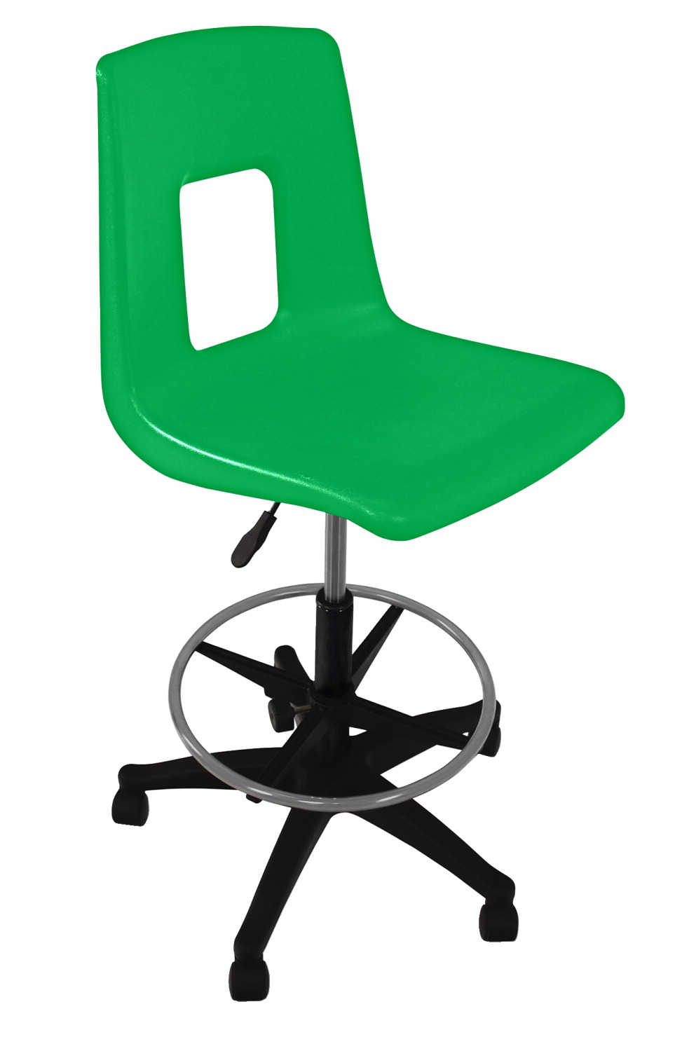 Classroom Select Traditional Pneumatic Lift Chair with Adjustable Foot Ring, A+ Shell, Various Options