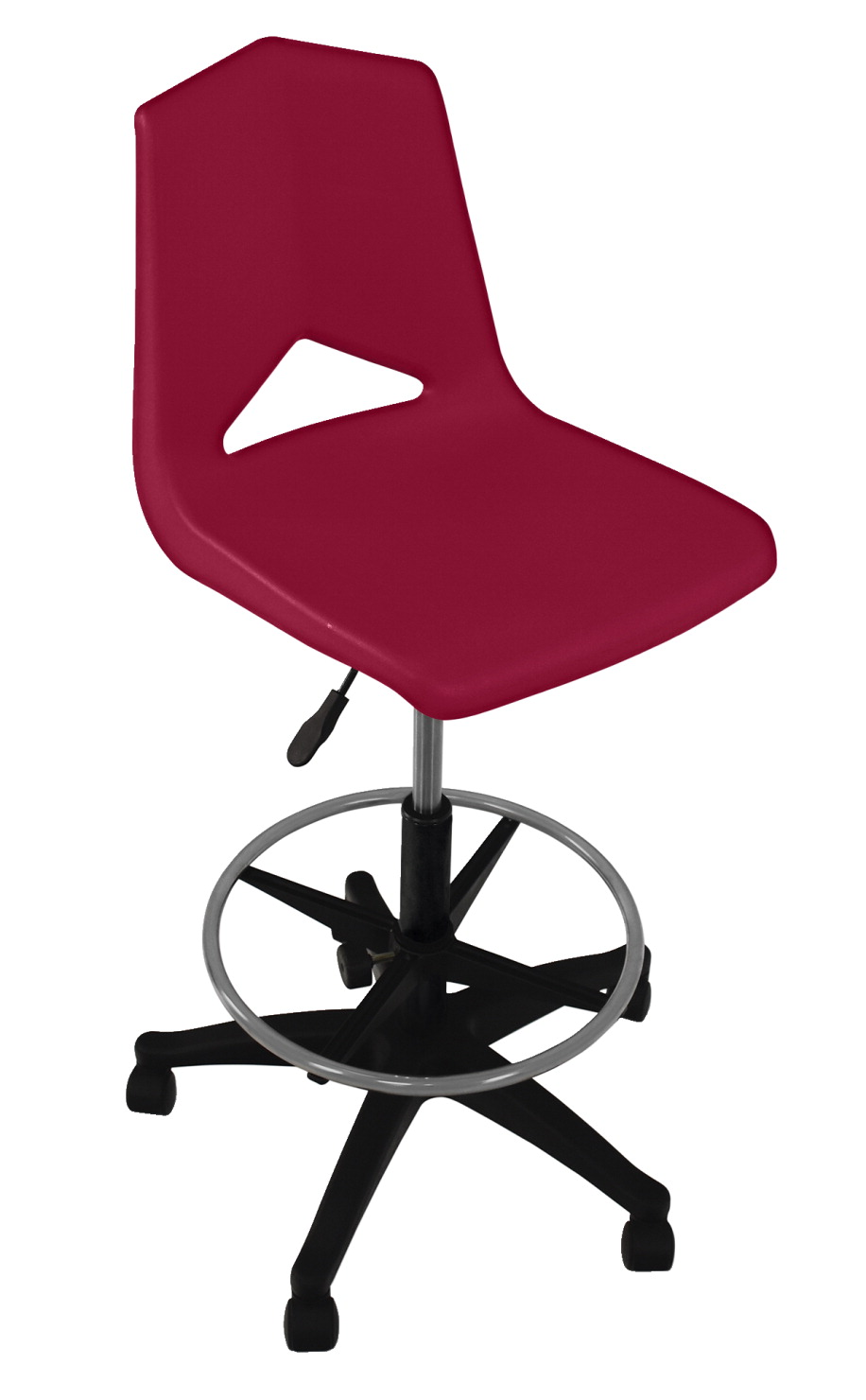 Royal Seating Pneumatic Lift Chair with Adjustable Foot Ring, A+ Shell