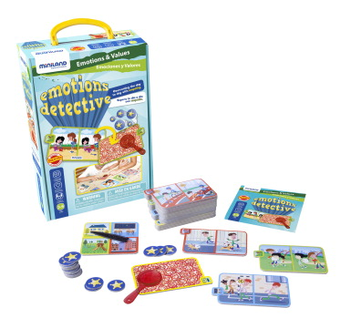 Miniland Emotions Detective Game, 45 Pieces