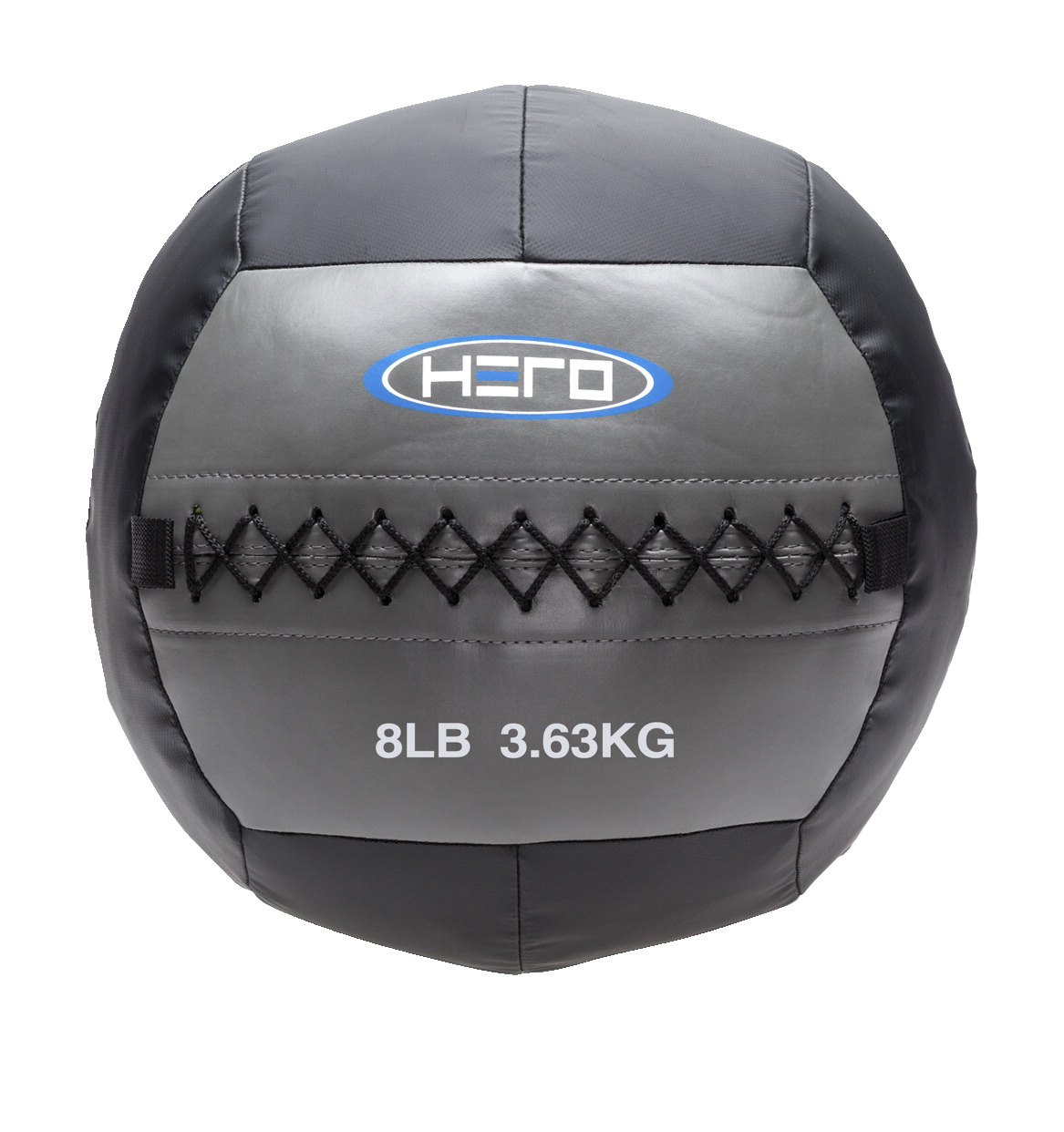 HERO Medicine Wall Ball, 8 Pounds, Gray