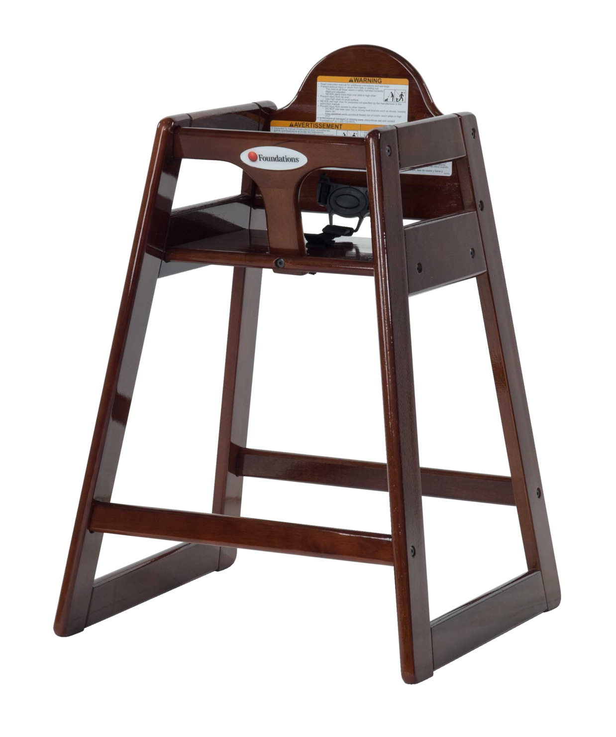 Outstanding Foundations High Chair Wood Antique Cherry Alphanode Cool Chair Designs And Ideas Alphanodeonline