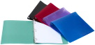 Storex Economy Poly Binders, 1/2 Inch, Assorted Colors, Set of 12