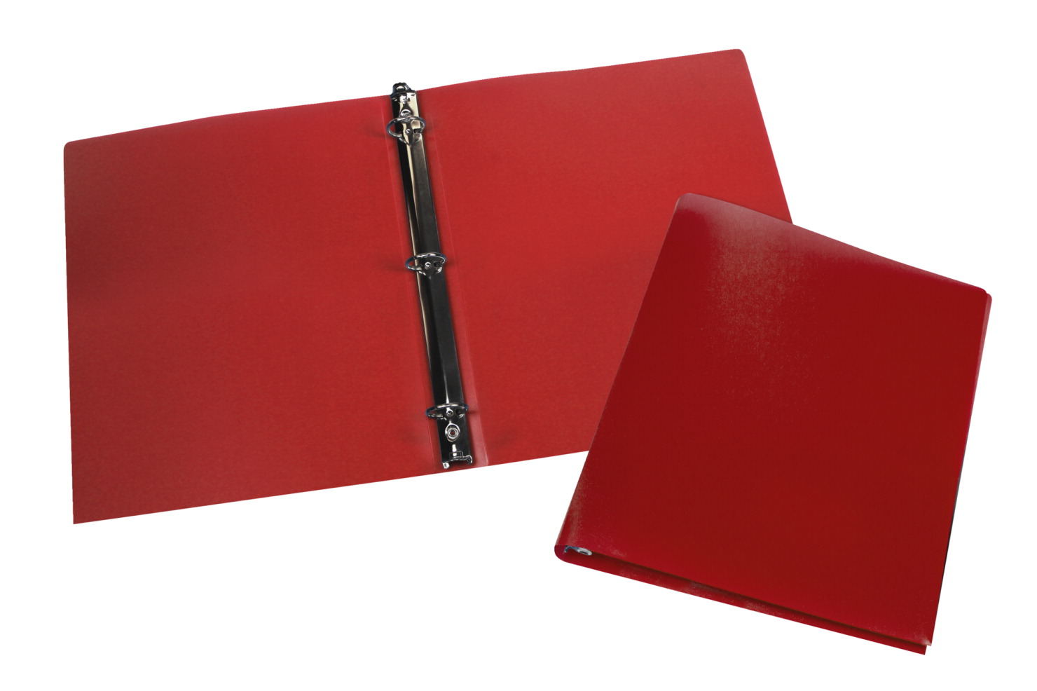 storex economy 0 5 inch poly binder red pack of 12 soar life