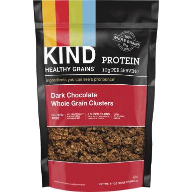 Kind Dark Chocolate Whole Grain Clusters  Ounce