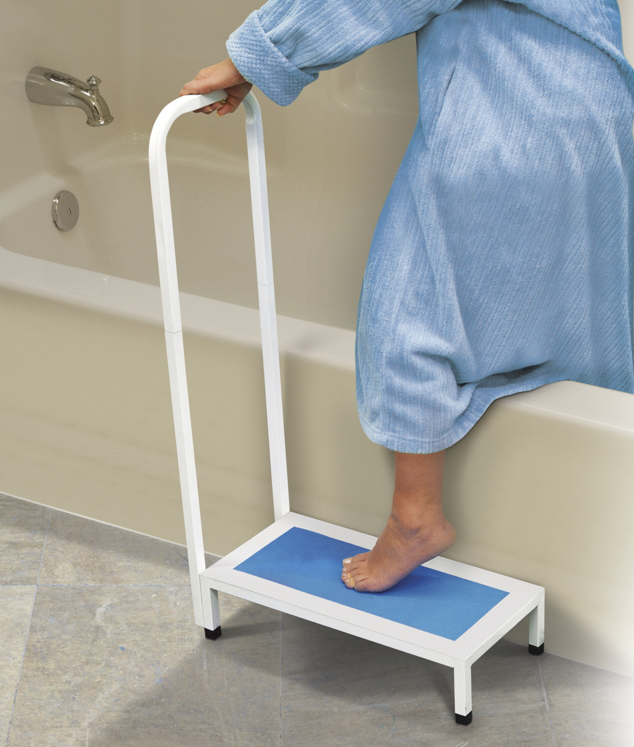 North American Health & Wellness Bath Step With Handle