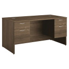 HON 101 Series Double Pedestal Desk, 60 x 30 x 29-1/2 Inches, Pinnacle