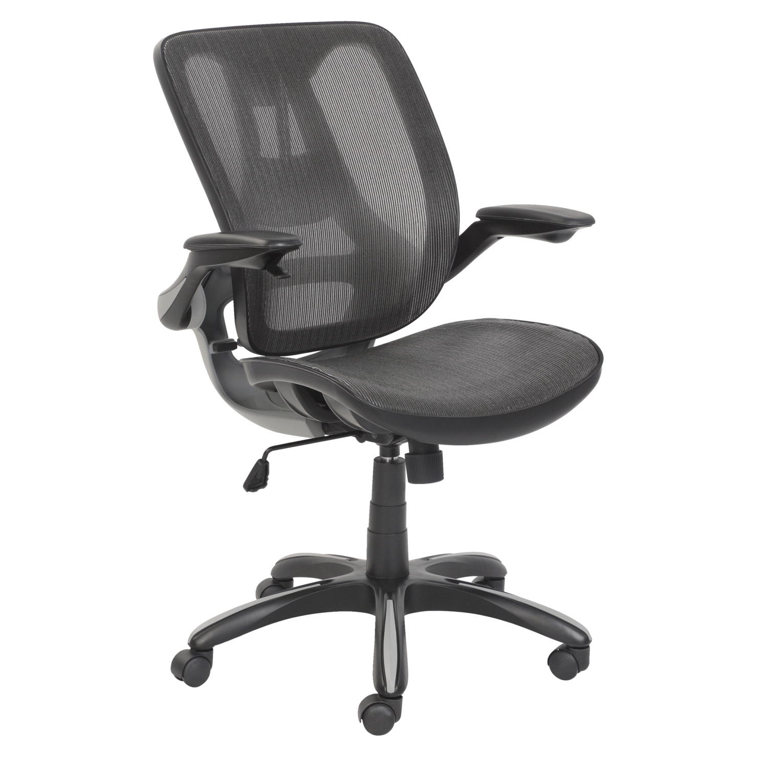 Classroom Select Nirvana Lounge Chair, 34 x 31 x 34-1/2 Inches, Gray