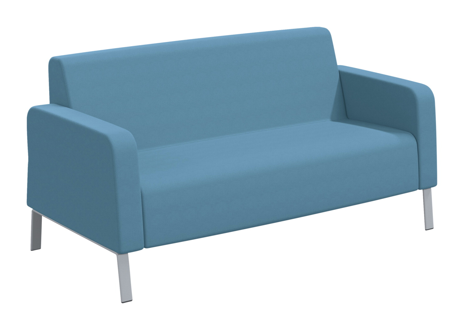 Classroom Select Soft Seating Armed Sofa, 66 x 32 x 34 Inches, Various Options