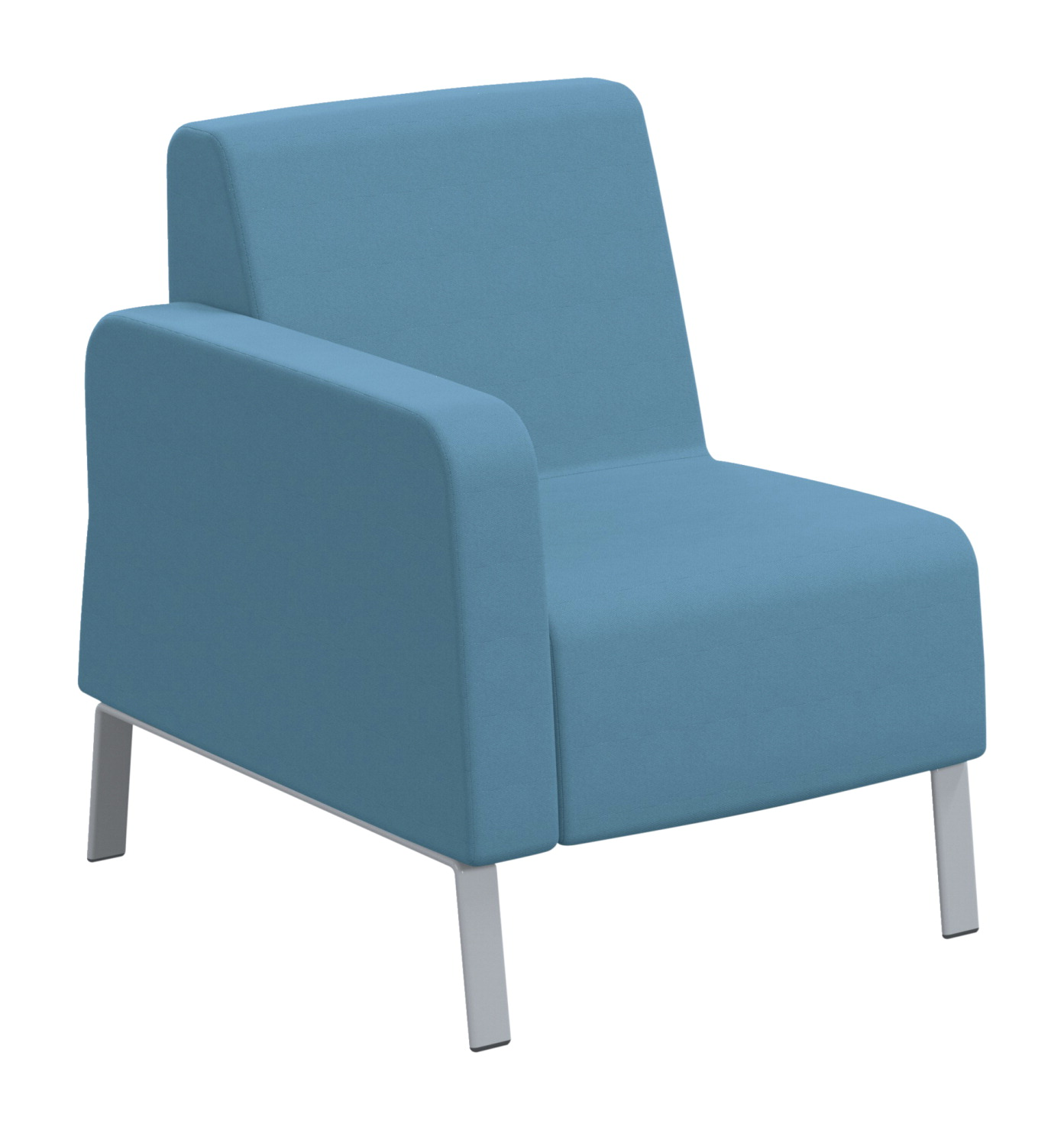 Classroom Select Soft Seating Right Arm Only Chair, 27-1/2 x 32 x 34 Inches, Various Options