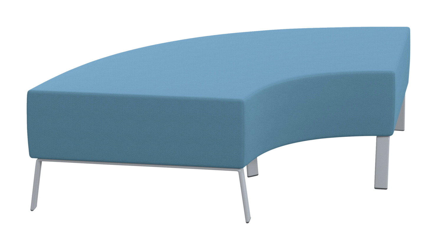 Classroom Select Soft Seating 90 Degree Bench, 71 x 32 x 18 Inches, Various Options