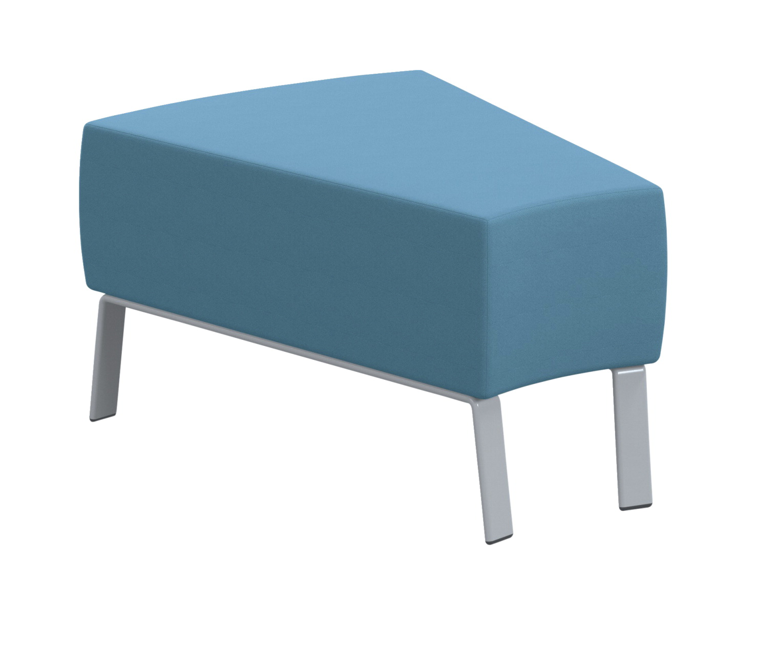 Classroom Select Soft Seating NeoLink 30 Degree Bench, 24 x 32 x 18 Inches, Various Options