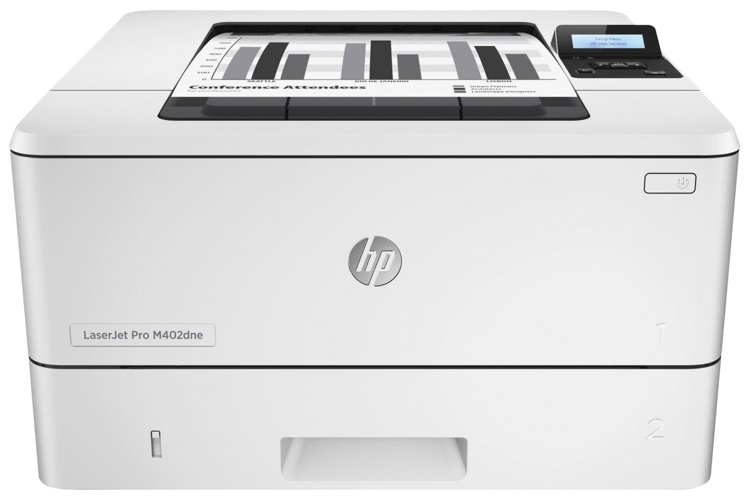 HP LaserJet Pro Printer, 40PPM, 256MB DRAM Memory, White - SCHOOL ...