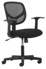 Basyx by HON Fixed Mid-Back Task Chair