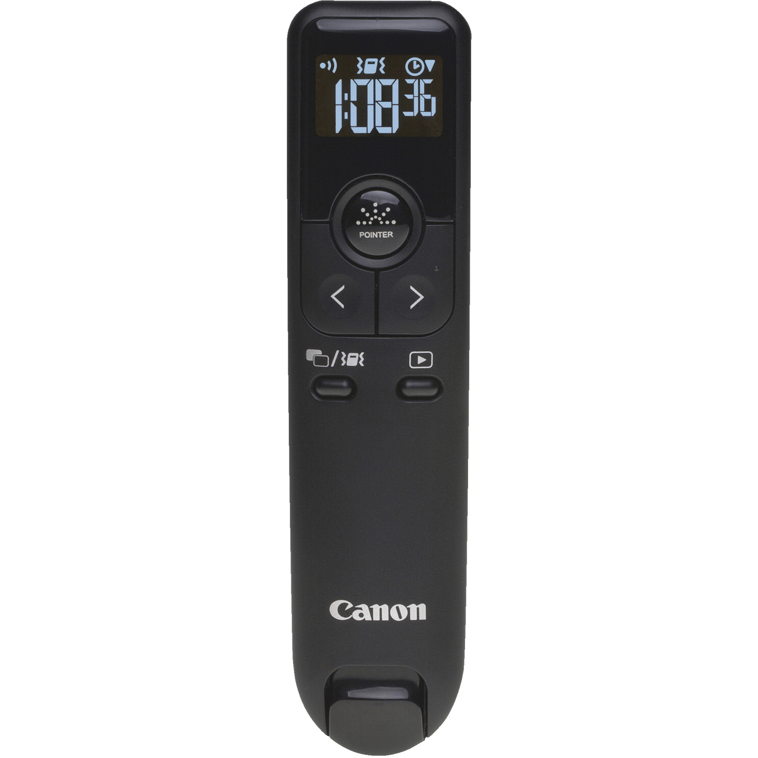 Canon Wireless Presenter, Red Laser, 6 W x 10 L x 2-3/10 Inches H, Black