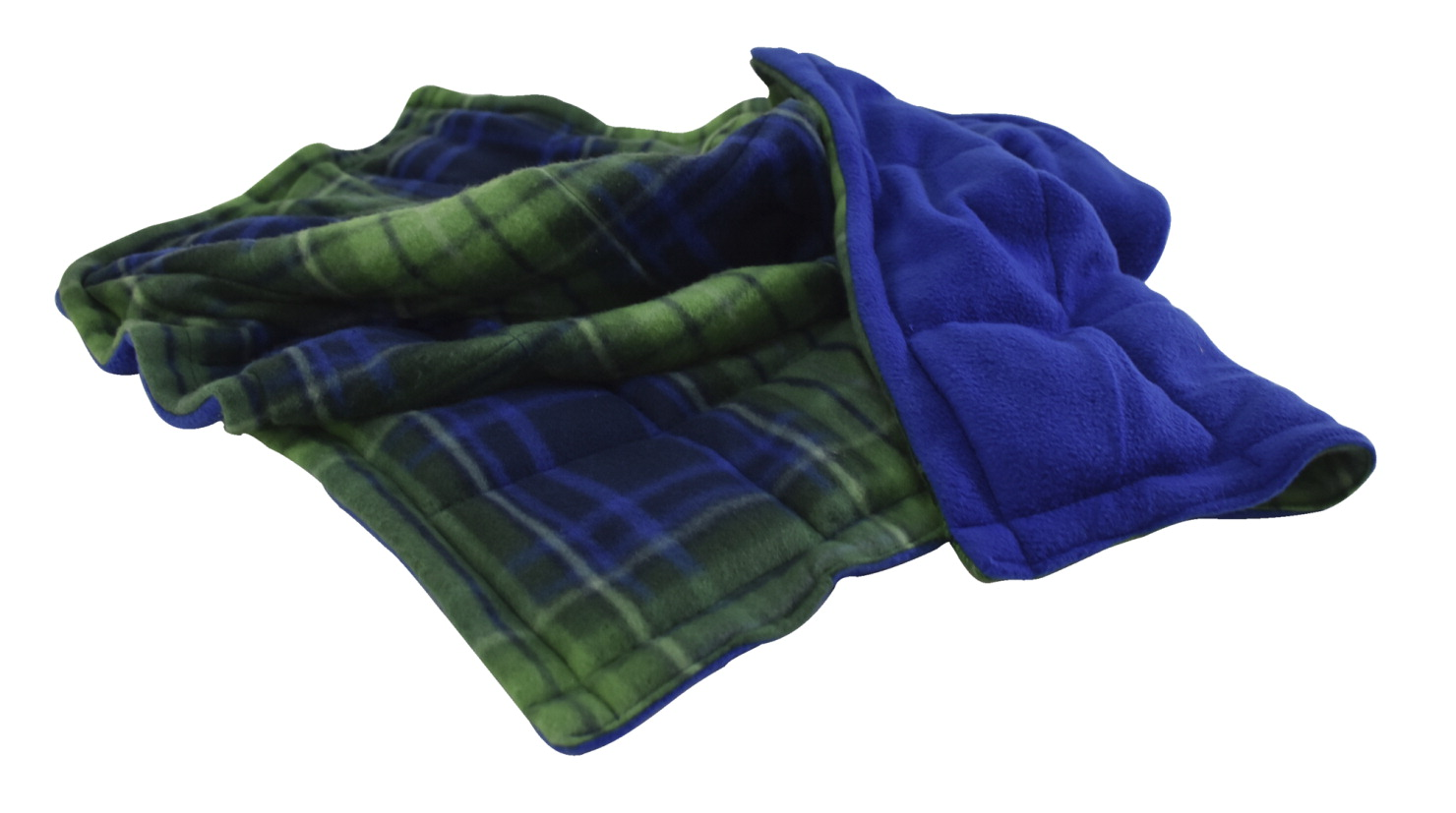 Abilitations Weighted Blanket, Medium, 8 Pounds, Plaid