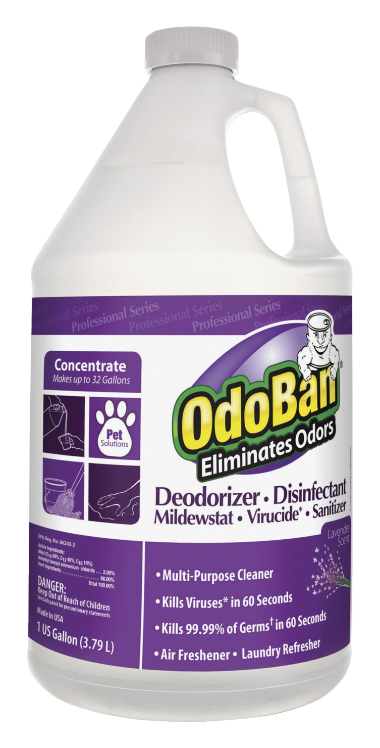Clean control corporation Odor Eliminator, Concentrate, Lavender Scent, 1-Gallon, PE, Pack of 4