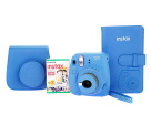 Fujifilm Instax Mini 9 Instant Camera with Case, Photo Album and Film, Cobalt Blue