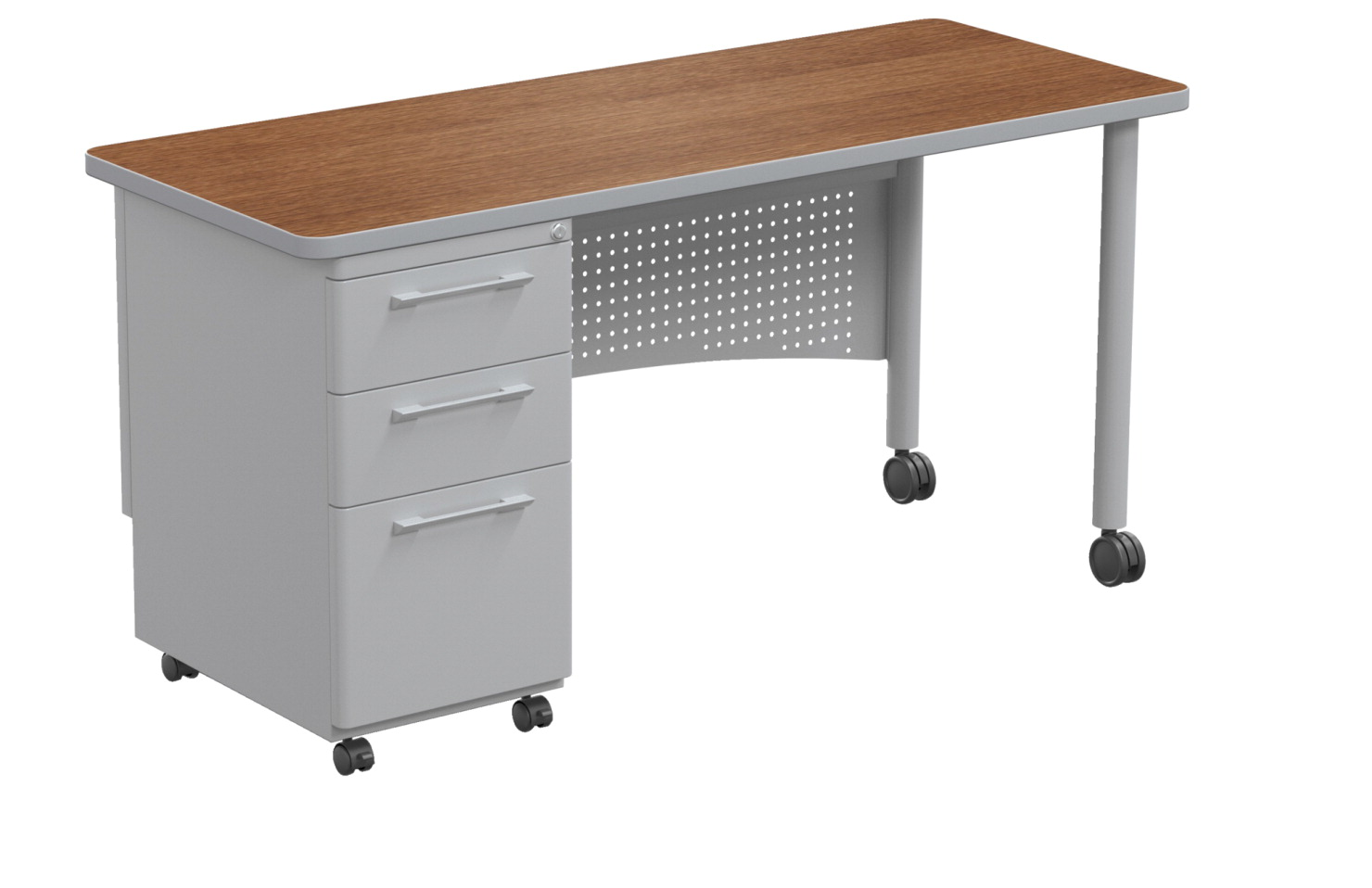 Classroom Select Single Pedestal Teacher S Desk 60 X 30 Inches Various Options