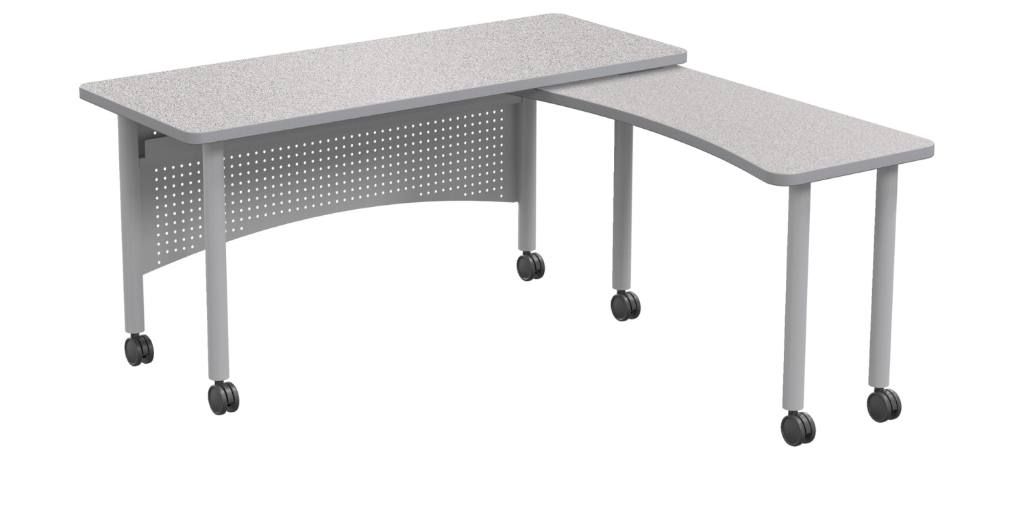 Classroom Select Teacher's Desk with Return, 60 x 30 x 38 H Inches, Various Options