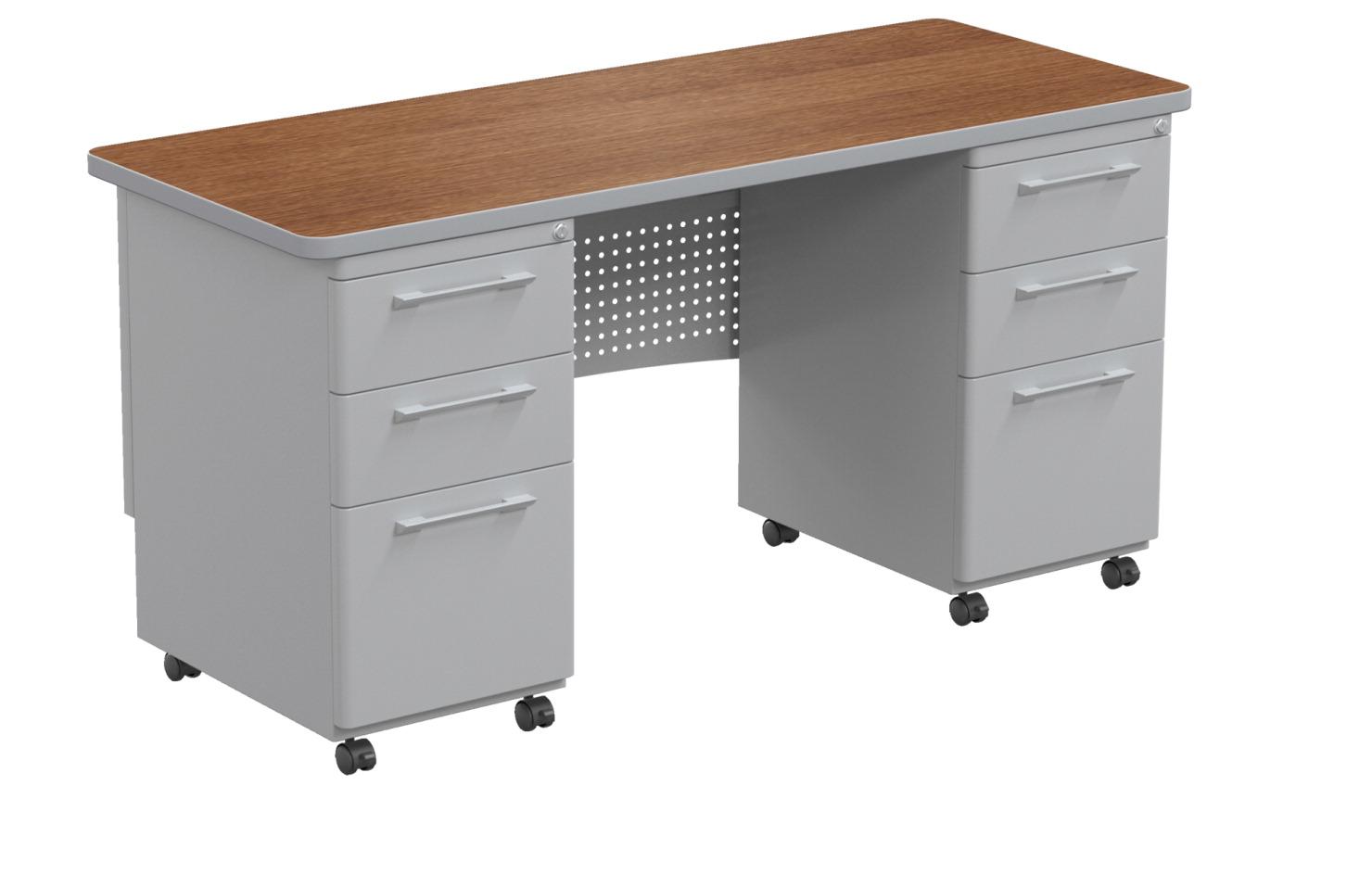 Classroom Select Double Pedestal Teachers Desk Soar Life Products