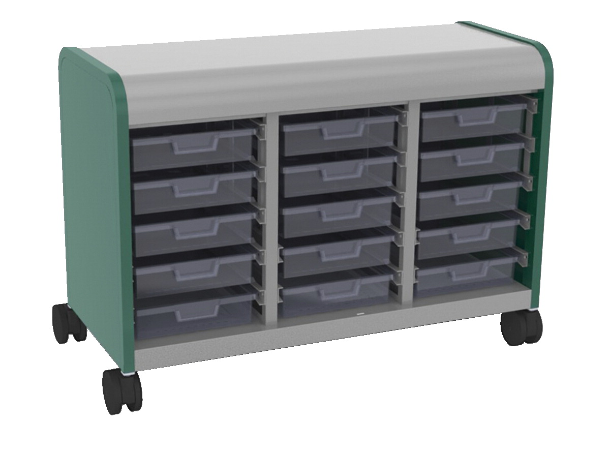 Smith System Cascade Open Mega-Case with 15 Totes, 43 x 19 x 30-3/8 Inches, Various Option