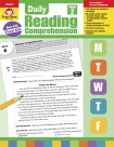Evan-Moor Daily Reading Comprehension Book, Teacher's Addition, Grade 2