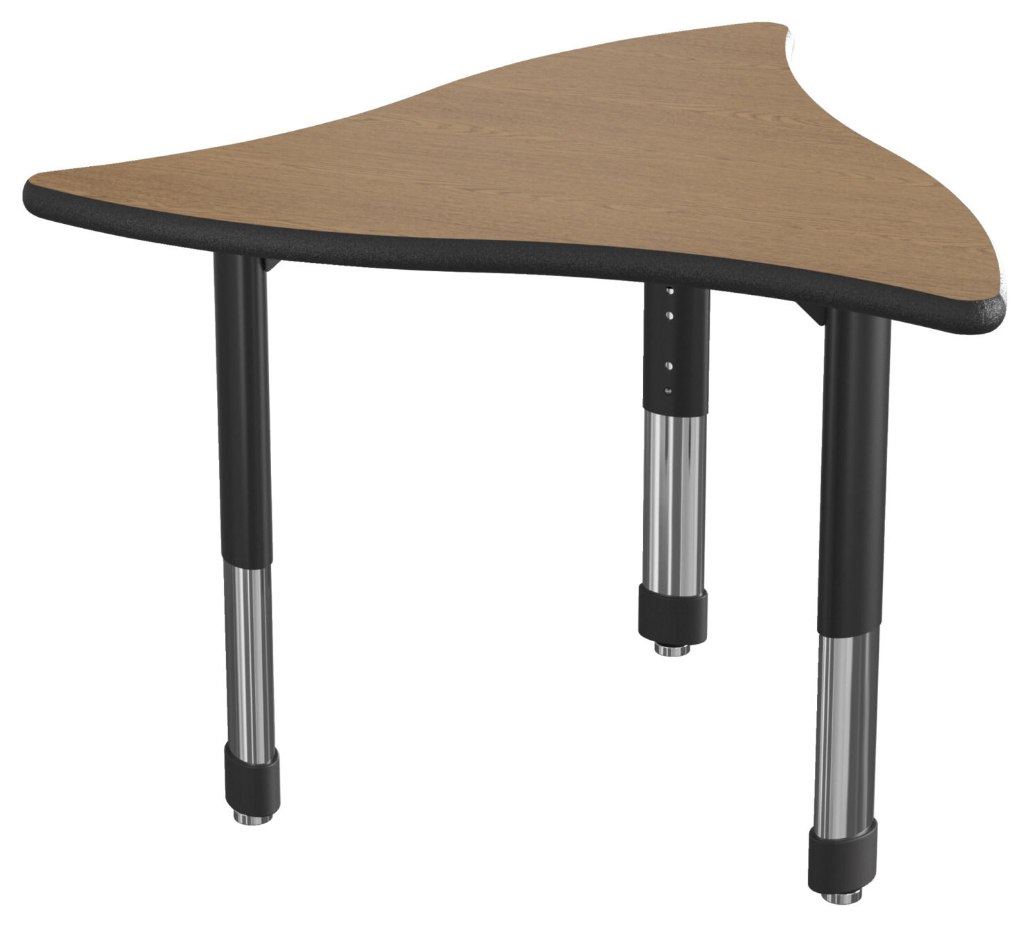 Classroom Select NeoShape Laminate Shaped Desk, LockEdge, Prop, 34 x 31 Inches, Various Options