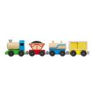 Melissa & Doug Wooden Cargo Train, 8 Pieces