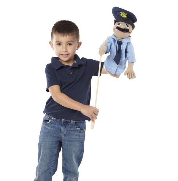 Melissa Doug Police Officer Puppet School Specialty Marketplace