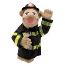 Melissa & Doug Firefighter Puppet with Wooden Rod
