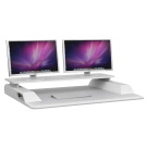 Safco Merge Monitor Riser Sit-Stand Workstation, 36 x 27-1/2 x 14 Inches, White